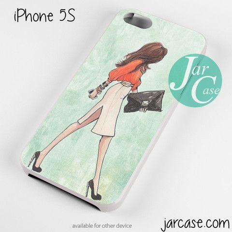 Office girl Phone case for iPhone 4/4s/5/5c/5s/6/6 plus