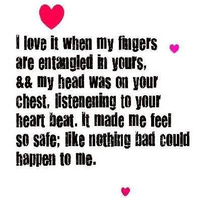 love feeling quotes for him