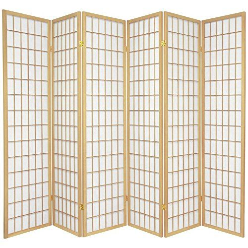 Oriental Furniture Asian Furniture 6 Feet Window Pane Japanese