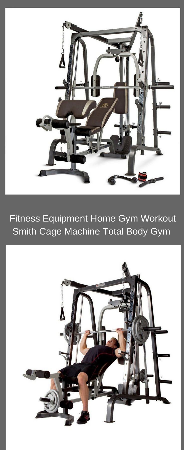 Fitness Equipment Home Gym Workout Smith Cage Machine ...