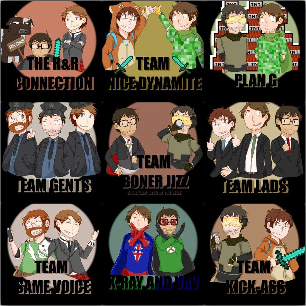 Teams for Achievement Hunter!!! | Rooster Teeth ... Achievement Hunter Comic Poster