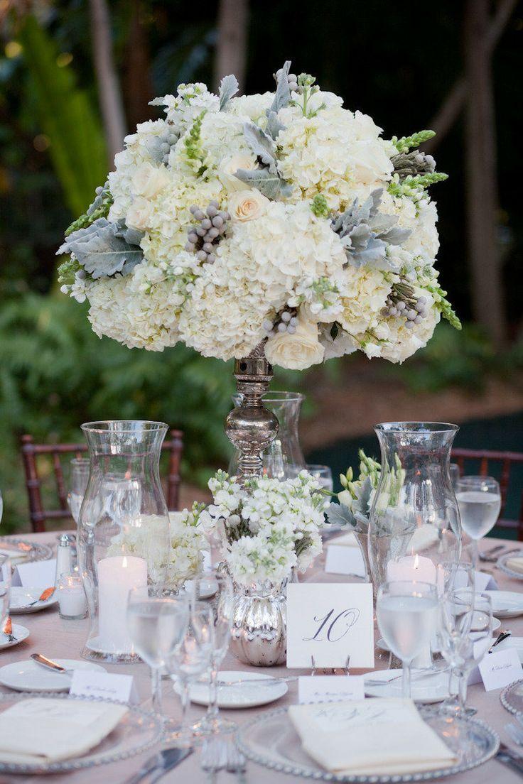 36 Beautiful Ways To Use Flowers In Weddings Wedding Table