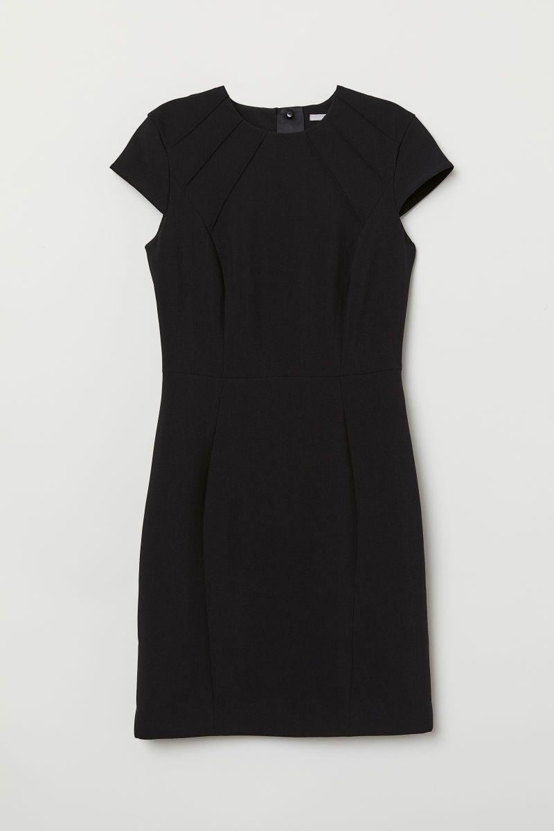 kurzes kleid | schwarz | damen | h&m de | kurze kleider