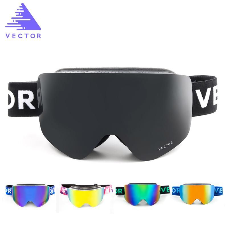 8445eea107b VECTOR Ski Goggles Masks Men Women 2 Lens Skiing Eyewear UV400 Anti-fog  Snowmobile Snowboard Goggles Skating Glasses HXJ20011. Yesterday s price   US  42.99 ...