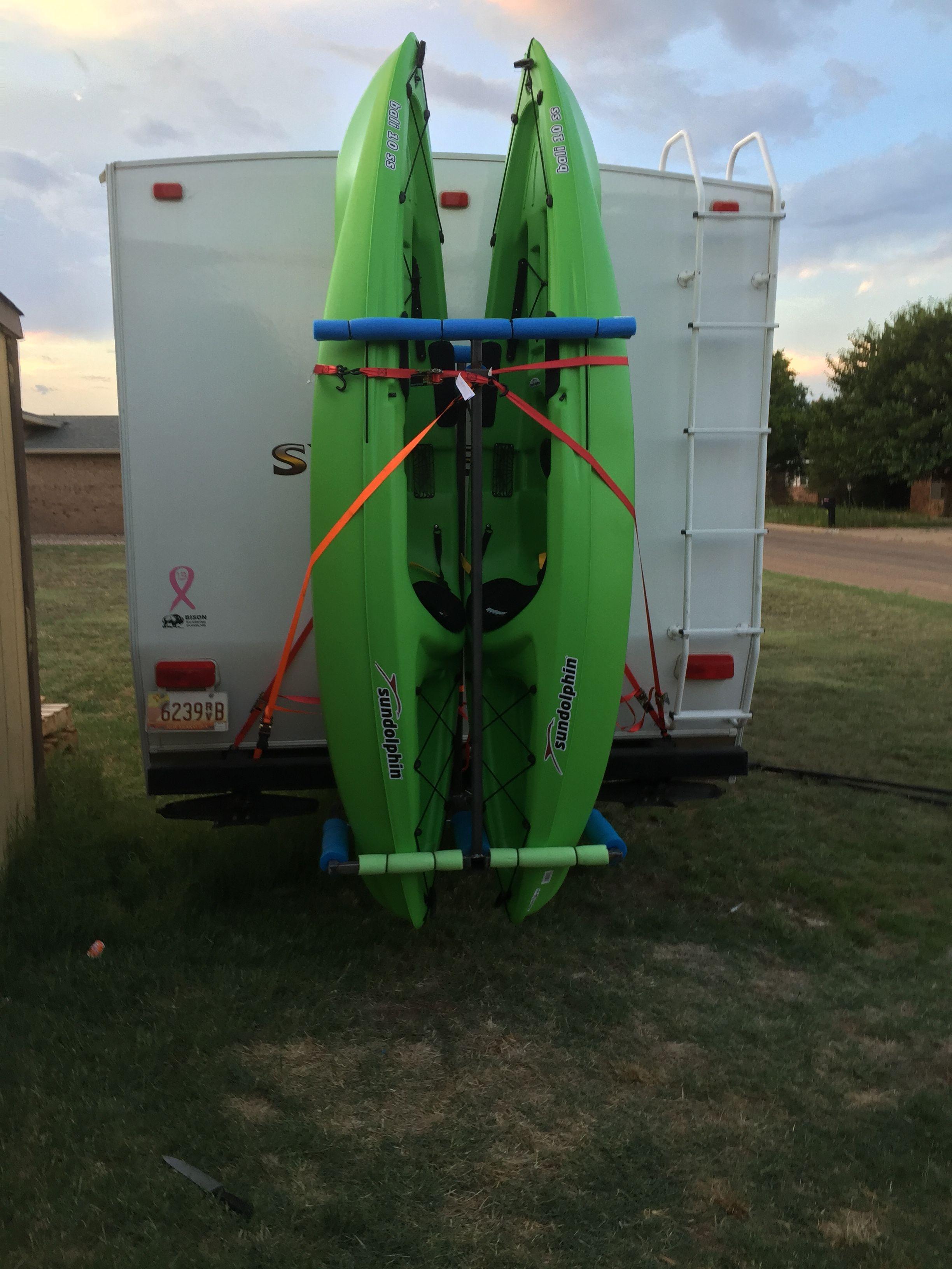 Pin By Korissa Basco Burns On Camping Camper Kayak Storage