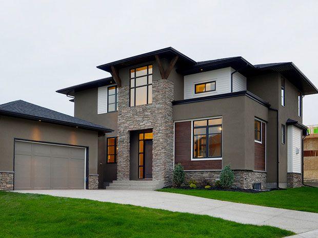 desain fasad rumah minimalis dengan batu alam Home Design - cout plomberie maison neuve