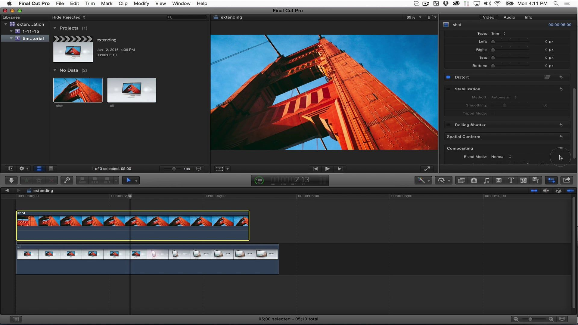 Editing Techniques To Extend The Duration Of After Effects Templates - After effects template editing