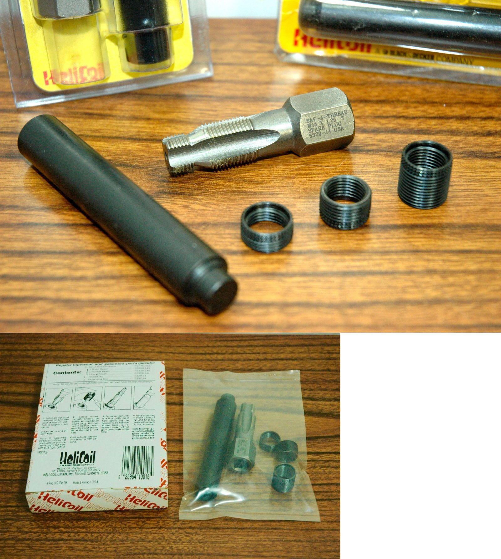 Sava thread spark plug thread repair kit mm taps