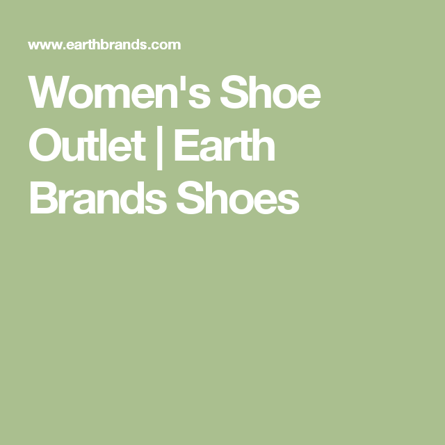 Women's Shoe Outlet  | Earth Brands Shoes