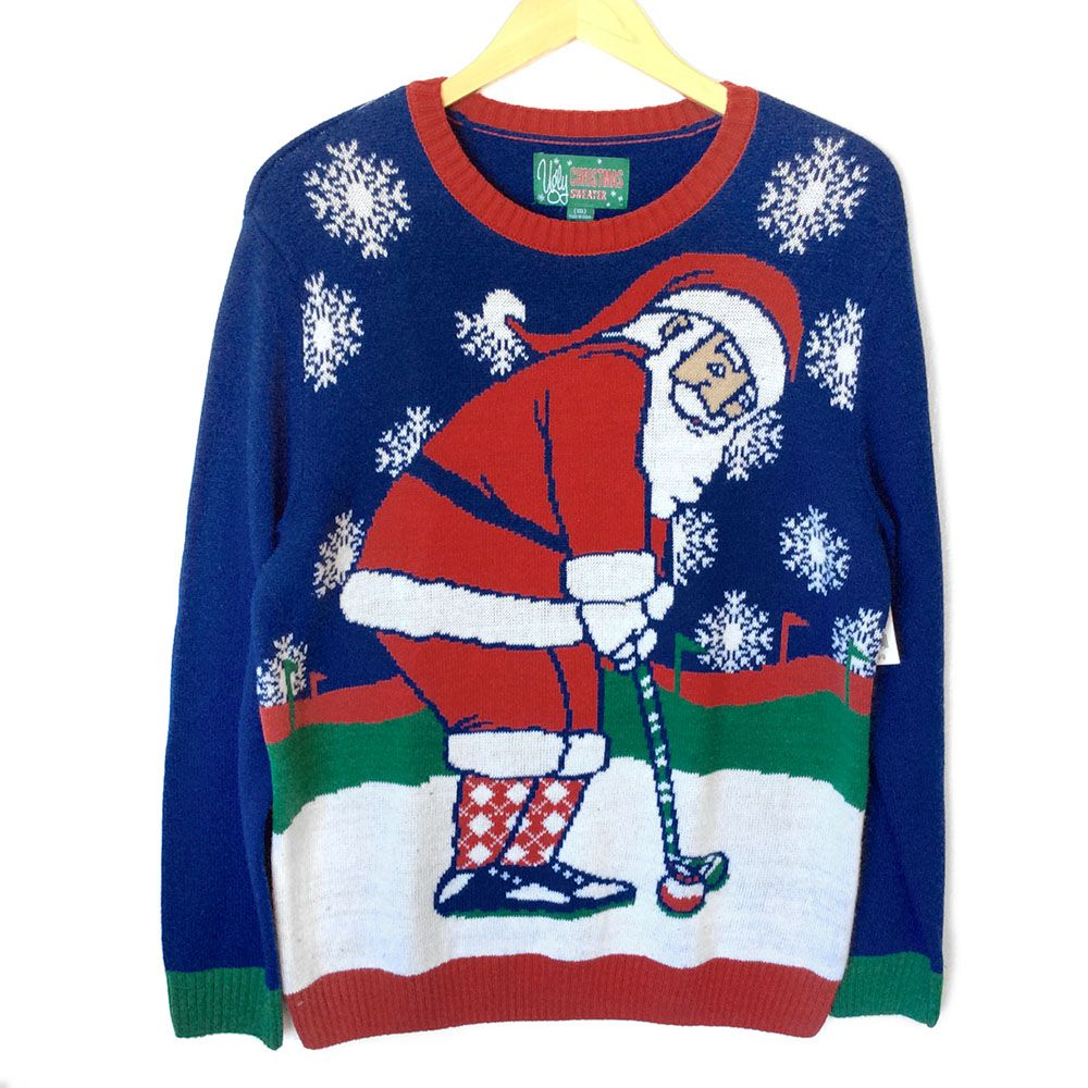 Oh Snap Fuzzy Gingerbread Man Tacky Ugly Christmas Sweater