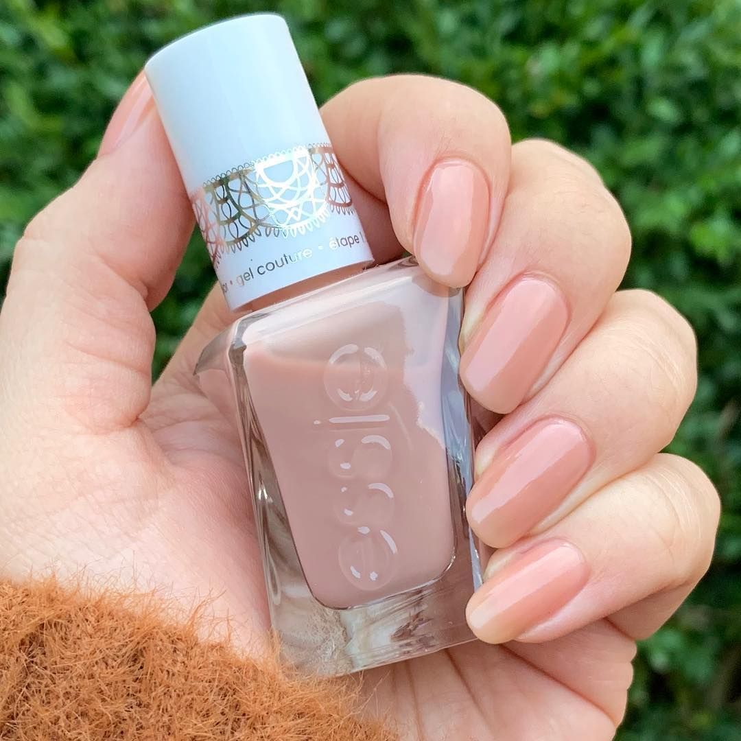Wearing Of Corset From The Essie Sheer Silhouettes Gel Couture Collection This Sheer Polish Has A N Essie Gel Couture Essie Nail Polish Colors Essie Gel