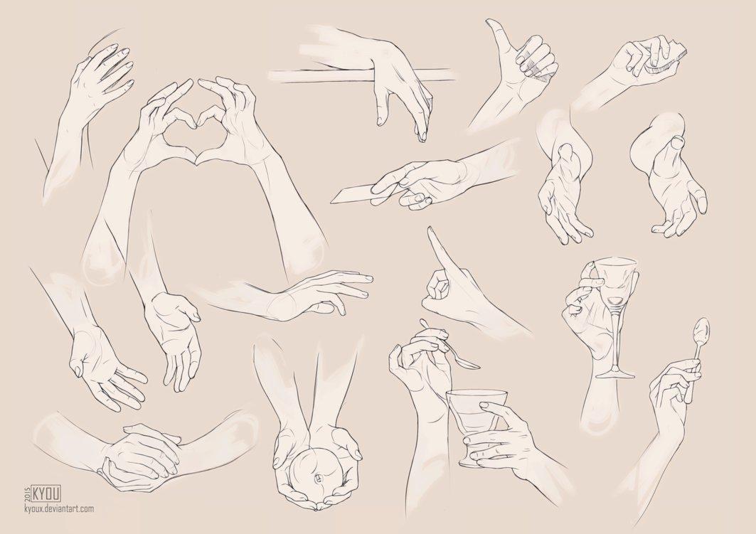 Картинки руки в позе