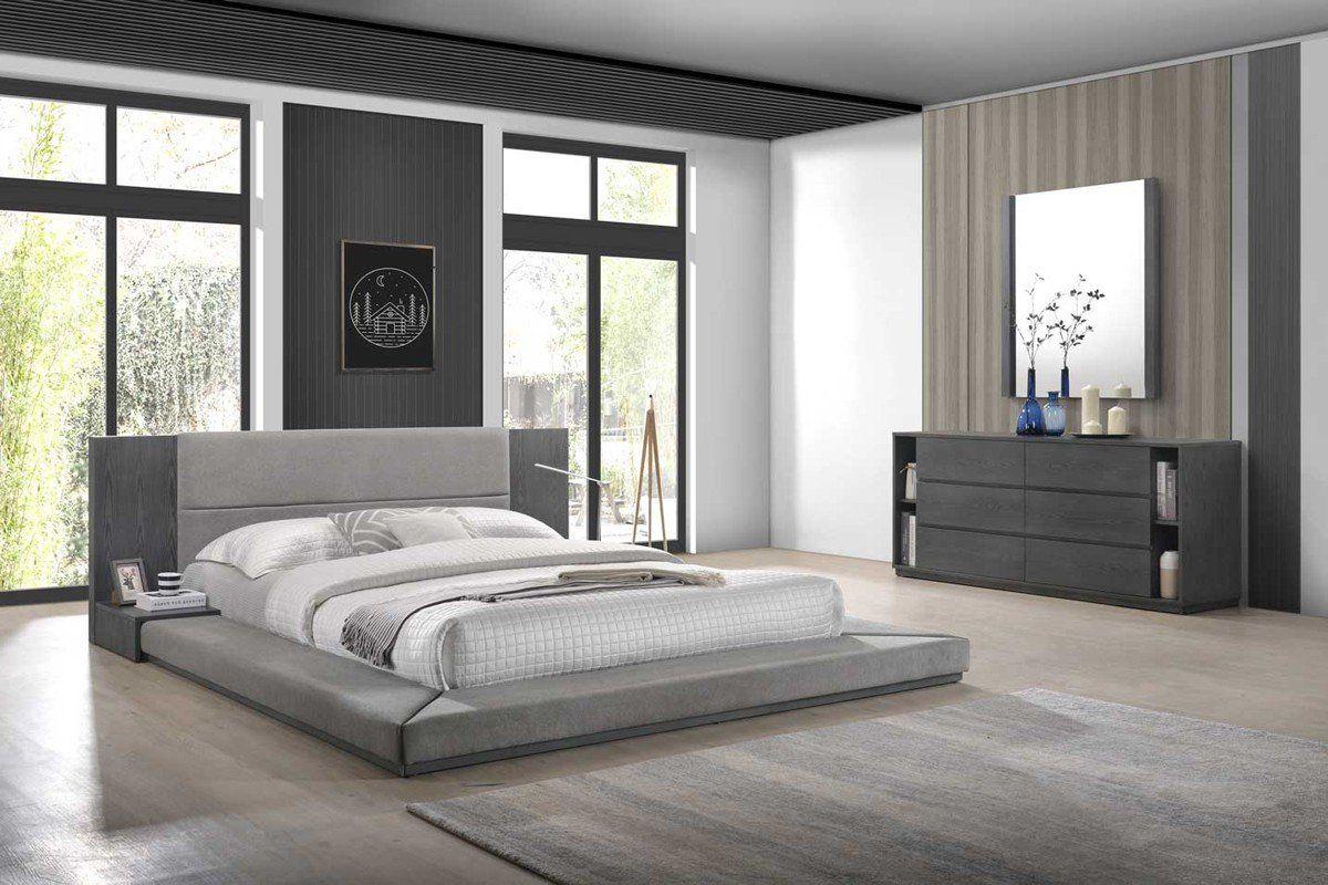 Jabi Modern Grey Bedroom Set In 2021 Grey Bedroom Set Modern Bedroom Set Modern Grey Bedroom