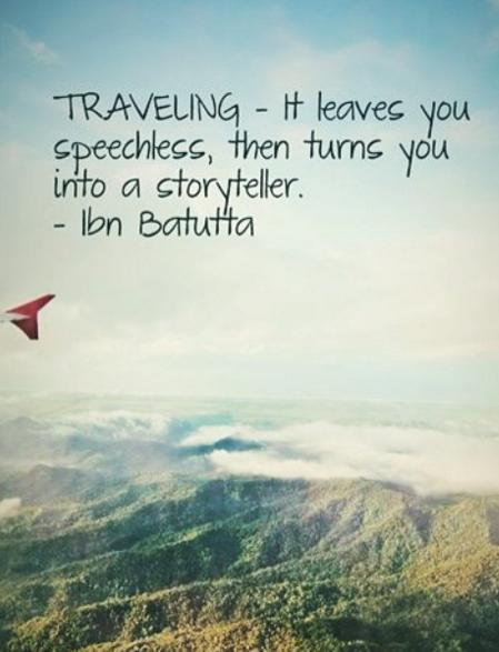 Reisen Zuerst Macht Es Dich Sprachlos Und Dann Zu Einem Geschichten Erzahler Reisen Fernweh Wanderlust Travel Zitate Reisen Reisezitate Reisen Spruch