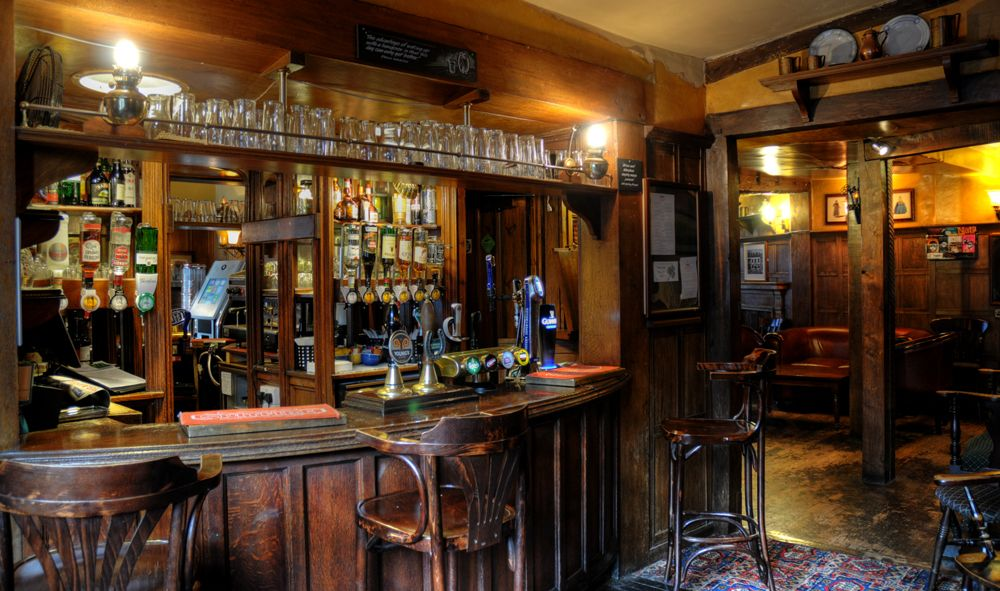 British Pubs English Pub Interieur Buitenkant