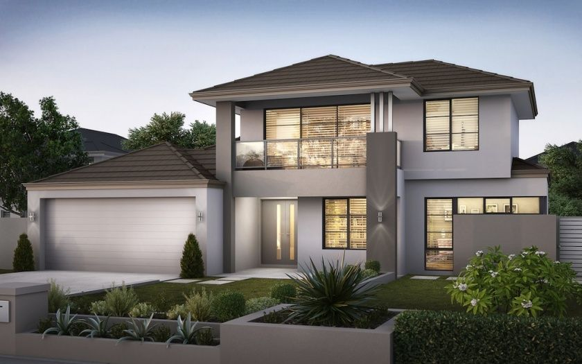The Ocean View By Next Residential Double Storey Homes New Homes Guide Facade House House Exterior Exterior House Colors