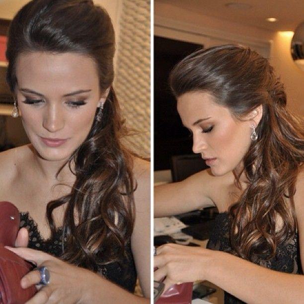 Populares Bianca Bin | Madrinha | Pinterest | Penteados, Cabelo formatura e  SK48