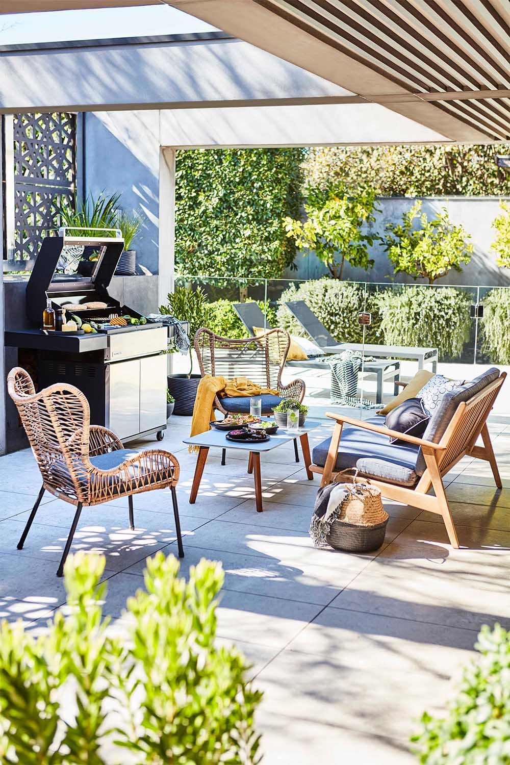 Mimosa Wicker Butterfly Chair Outdoor Furniture Sets Outdoor