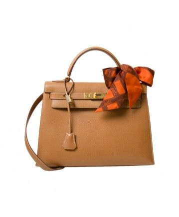 b7cb54883c6e e-shop labellov online tweedehands vintage designer luxe Hermes Kelly gold  color