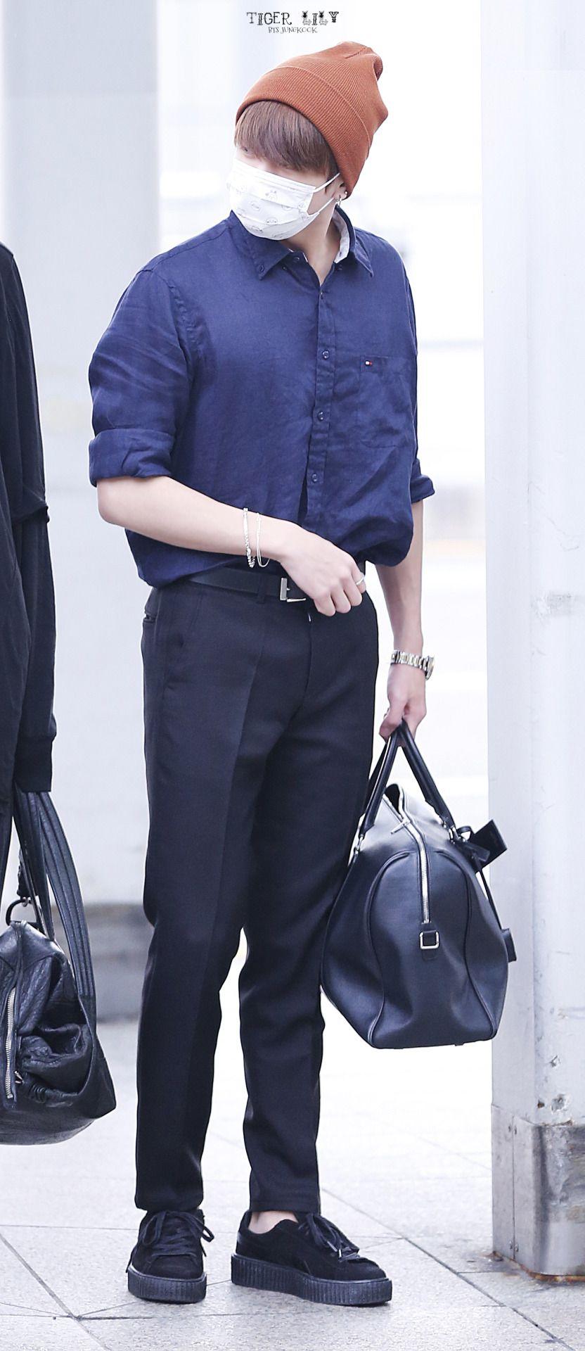 Jungkook #airport fashion © TIGERLILY | Do not edit