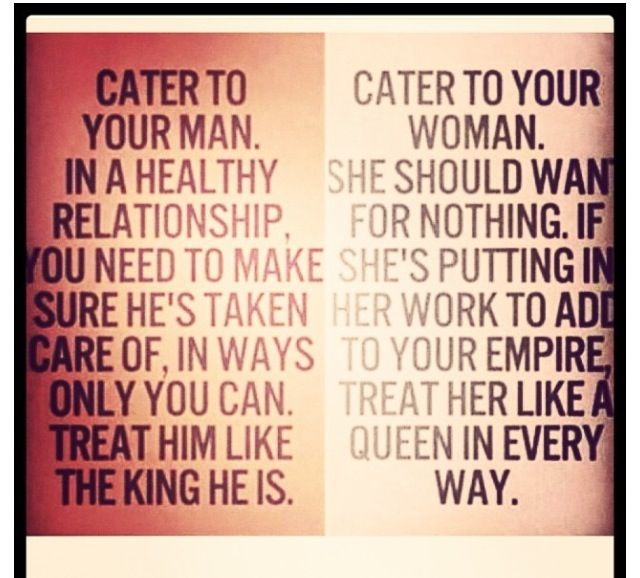 Quotes and sayings : cater to : him : her   Quotes & sayings ...