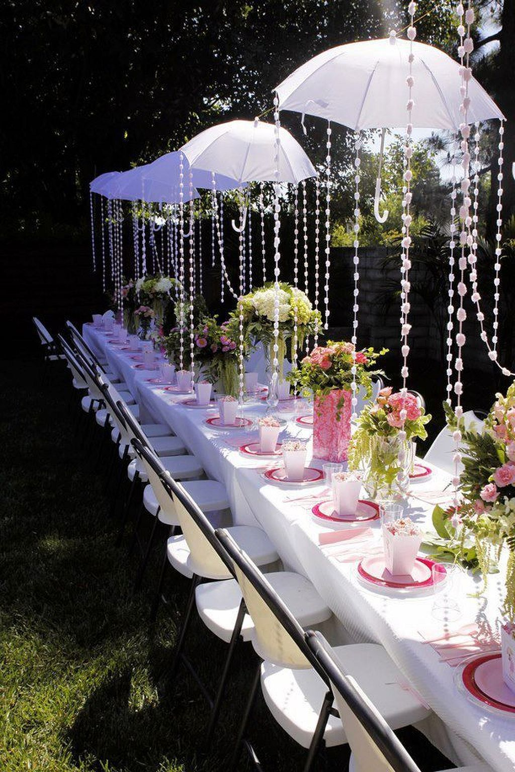 garden tea party bridal shower love this idea 8