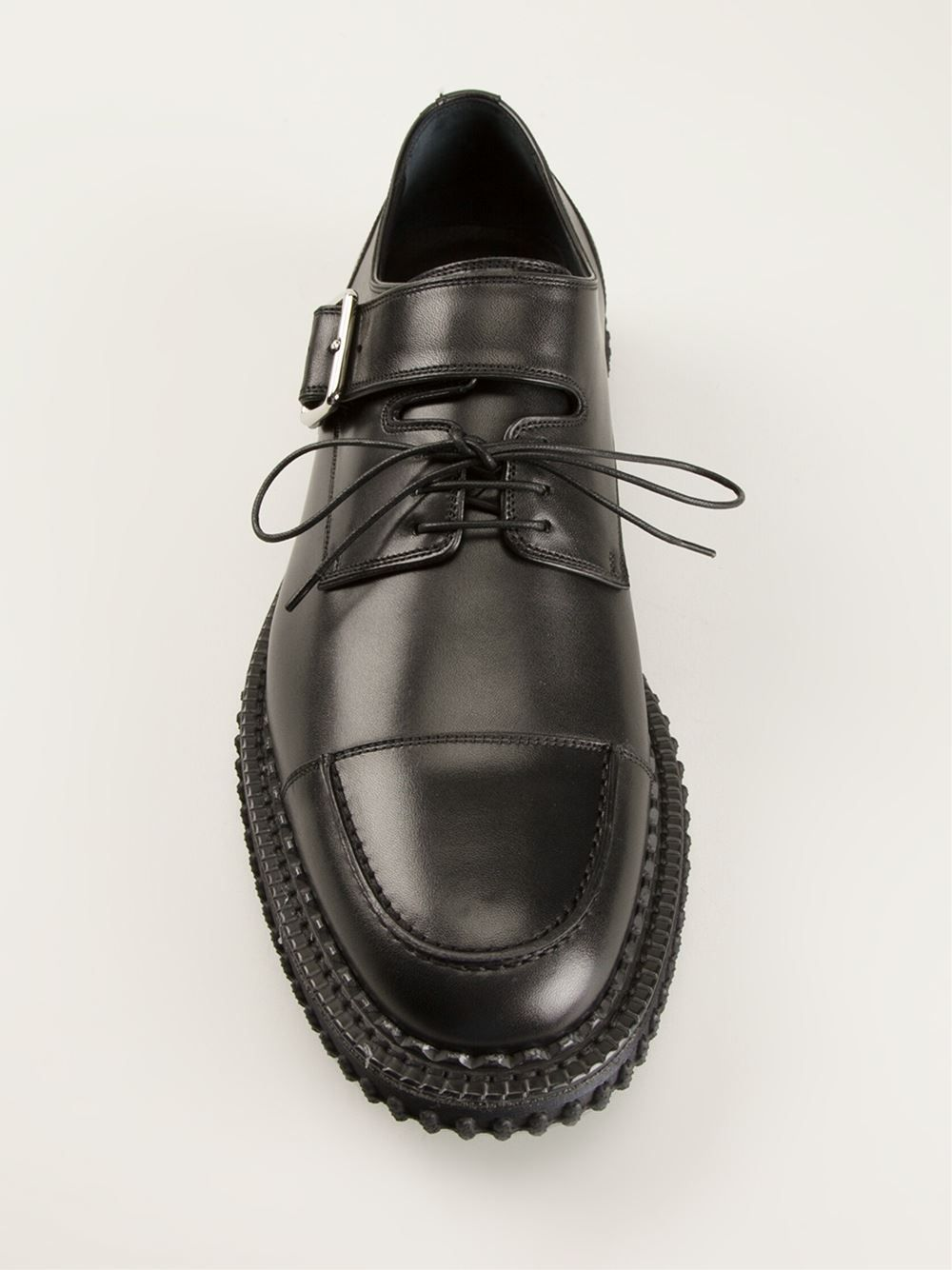 Dior Homme Buckled Derby Shoes - L
