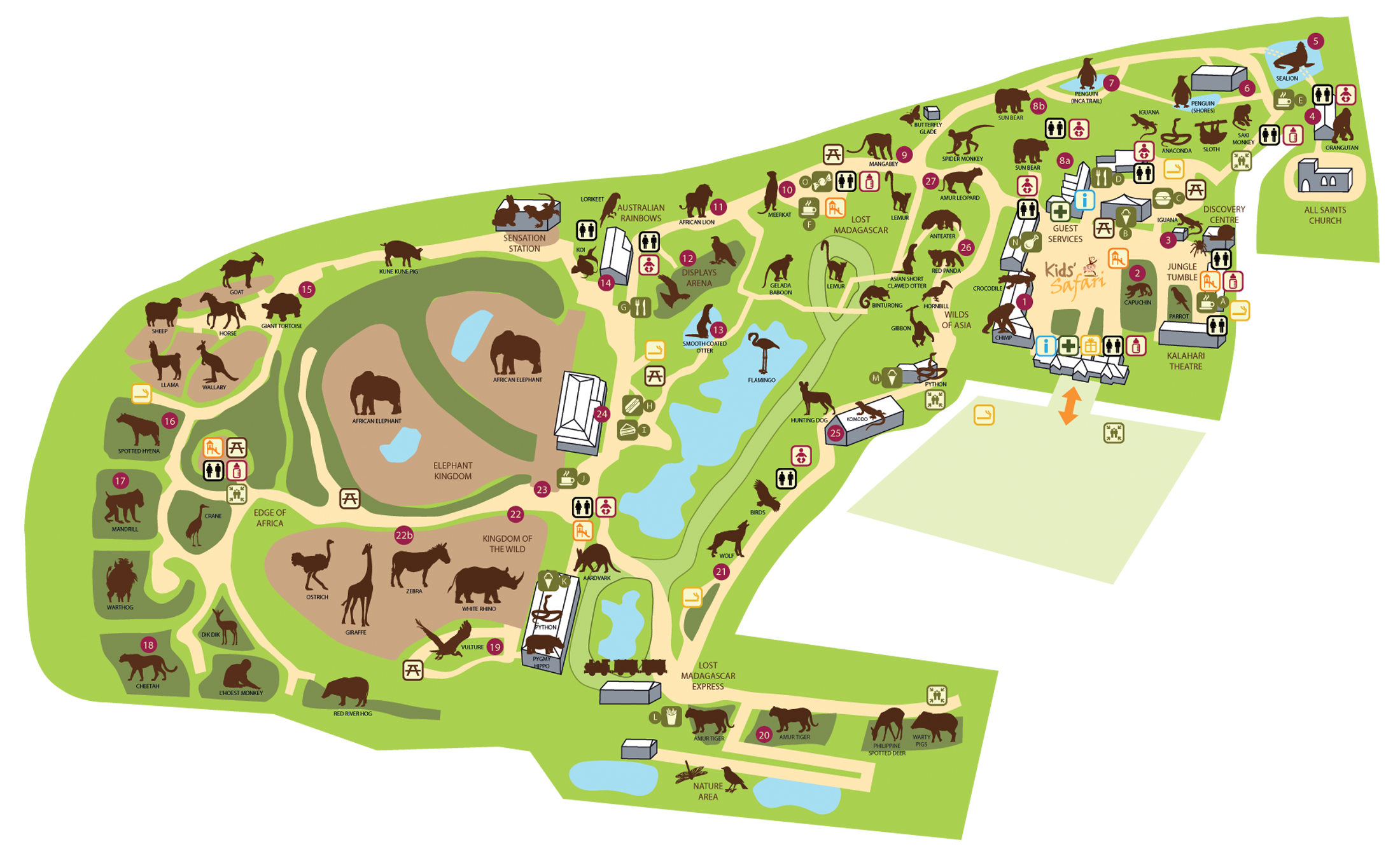 Zoo Map Colchester Zoo Places To Go Pinterest Colchester - Houston zoo map