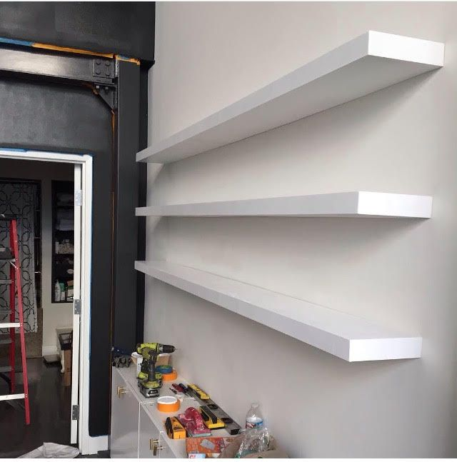 innovative design 7be4f 8692d Custom 8ft Floating Shelves Good Old Boys Handyman - Los ...