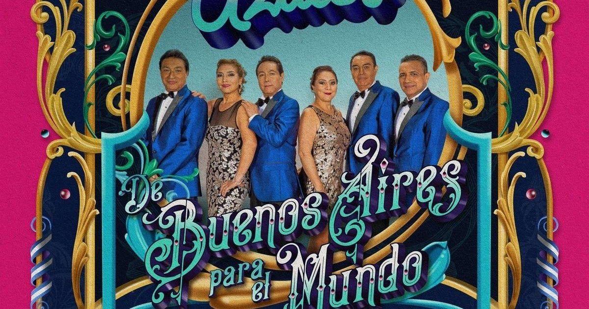 Los Angeles Azules De Buenos Aires Para El Mundo Album 2020 En 2020 Los Angeles Azules Los Angeles Se Bueno