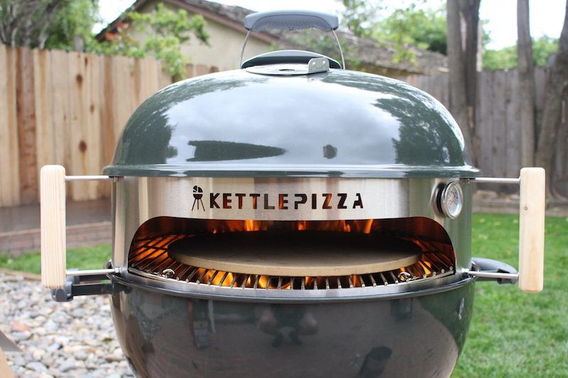 Kettlepizza Weber Grill Insert Review Backyard Chef Makes Authentic Neapolitan Pizza Grilling Weber Grill Pizza Oven