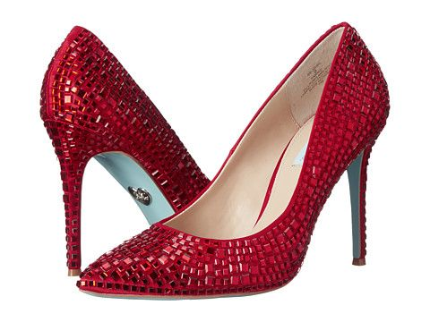 d07cec08619b4 Blue by Betsey Johnson Ariel Red Stain - Zappos.com Free Shipping BOTH Ways
