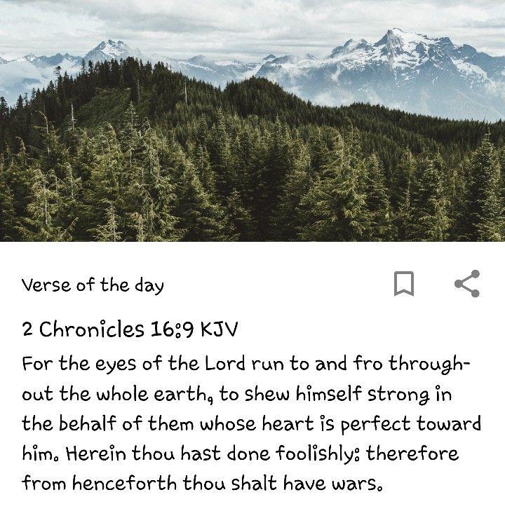 2 Chronicles 16:9 | Bible Verses | Bible verses, Bible, Verses