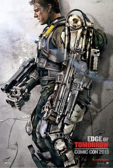 Next Big Future: Tom Cruise Movie showing a lot of soldiers using exoskeletons