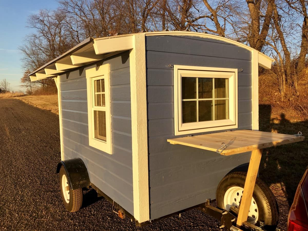 Introducing...The Birdhouse Tiny Trailer! Camper for