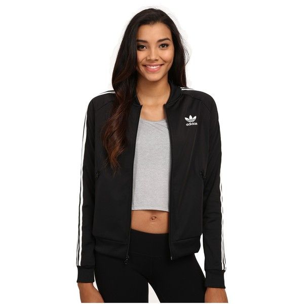 Adidas Originals Superstar Track Top  mujer 's clothing, negro (56