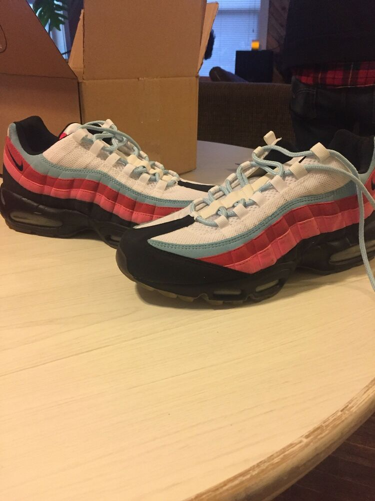 5af0a909 Nike Air Max 95 Parra x The Running Man #fashion #clothing #shoes  #accessories #mensshoes #athleticshoes (ebay link)