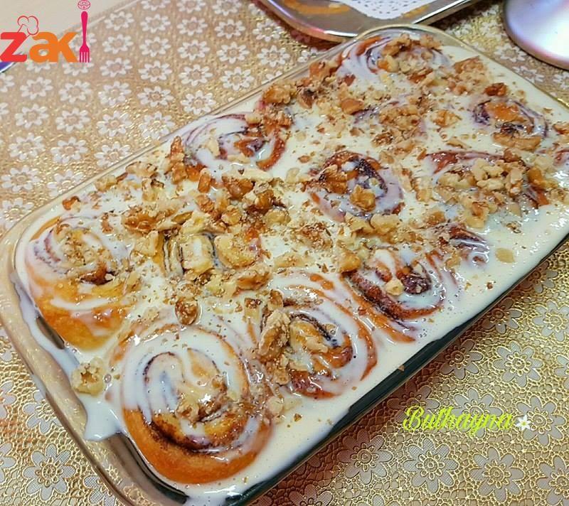 أنجح طريقة لعمل السينابون على أصوله زاكي Cooking Recipes Cooking Food And Drink