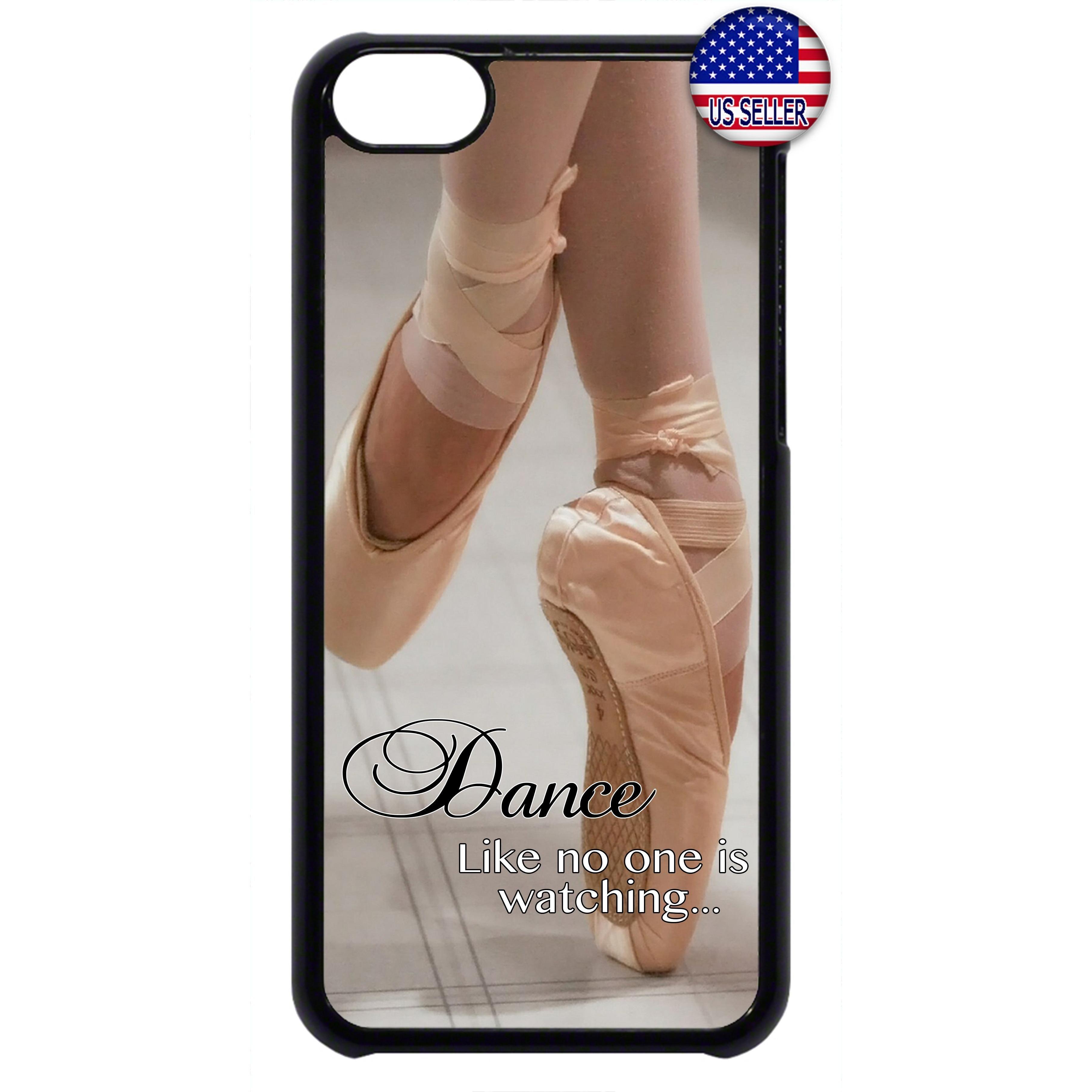 Dance Like a Ballerina Ballet Dancer Rubber Case Cover For Ipod ...