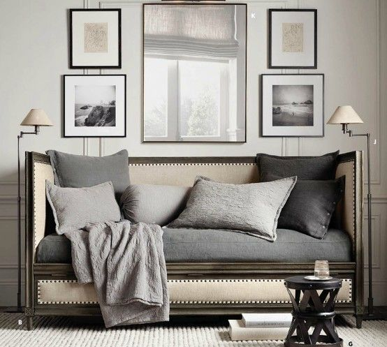 Big Style Small Spaces - Restoration Hardware | Under the Roof ...