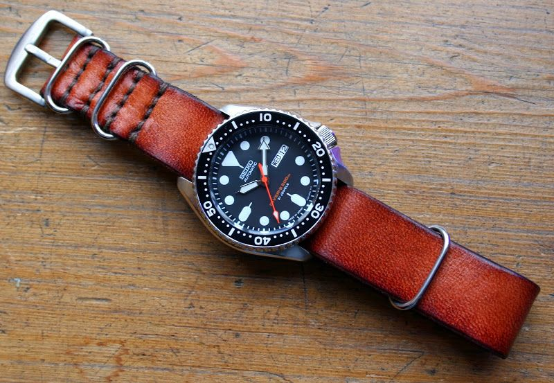 Leather strap on a Diver...got any? - Page 260