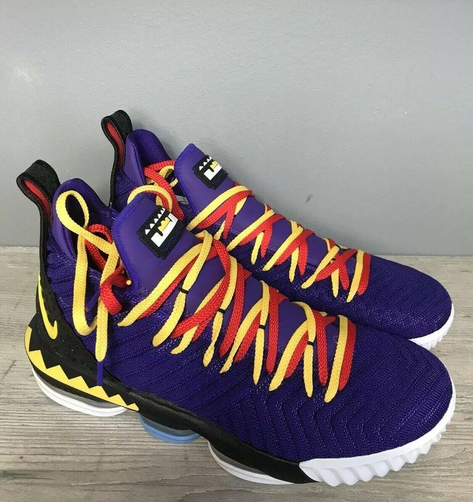 "Nike Lebron 16 ""Martin Edition"" Size 14"
