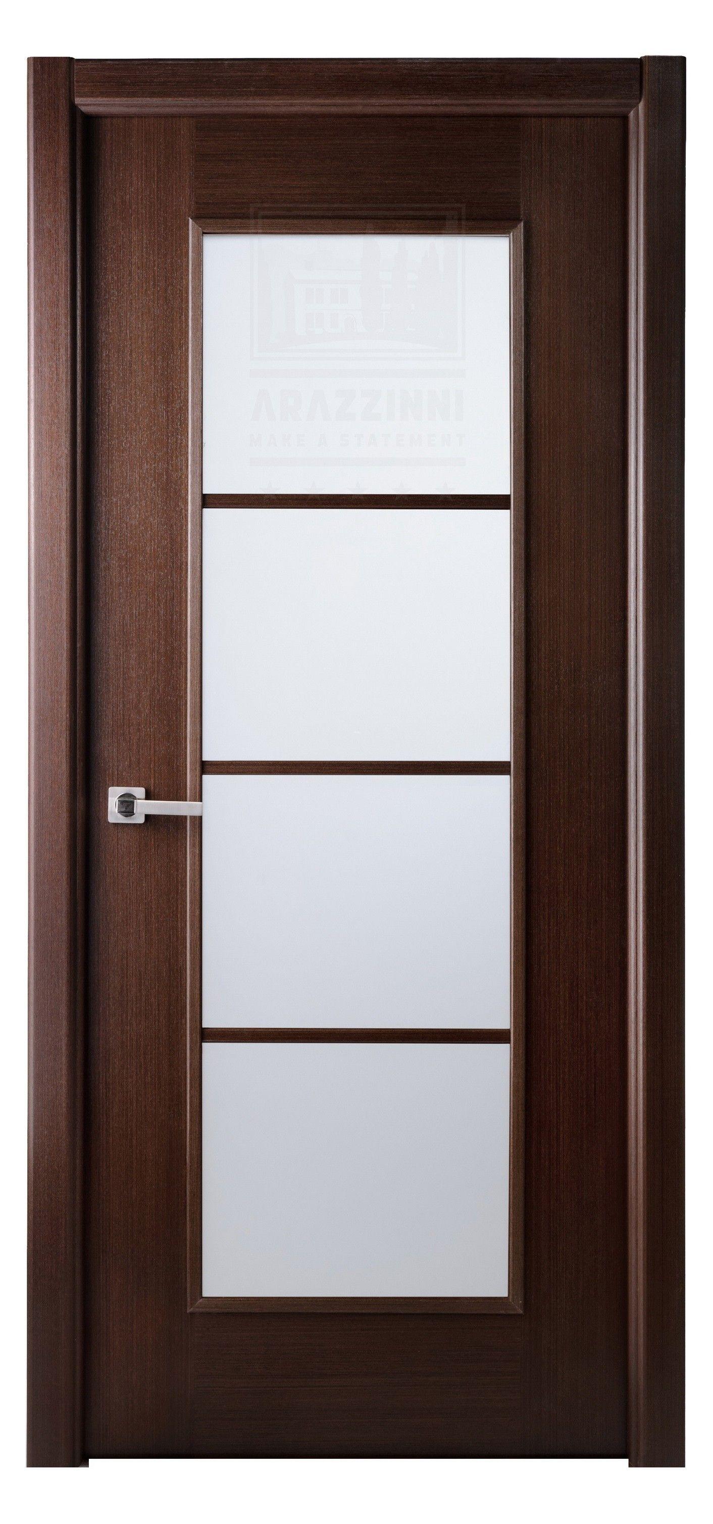 Elegant Arazzinni Modern Lux Interior Door Wenge