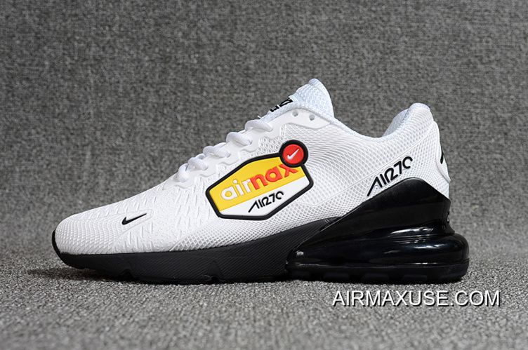 Nike Air Max Flair 270 Be Nanotechnology Plastic Zoom White