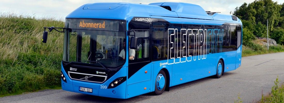 Volvo Electric Bus In Gothenburg Credit Roger Lundsten