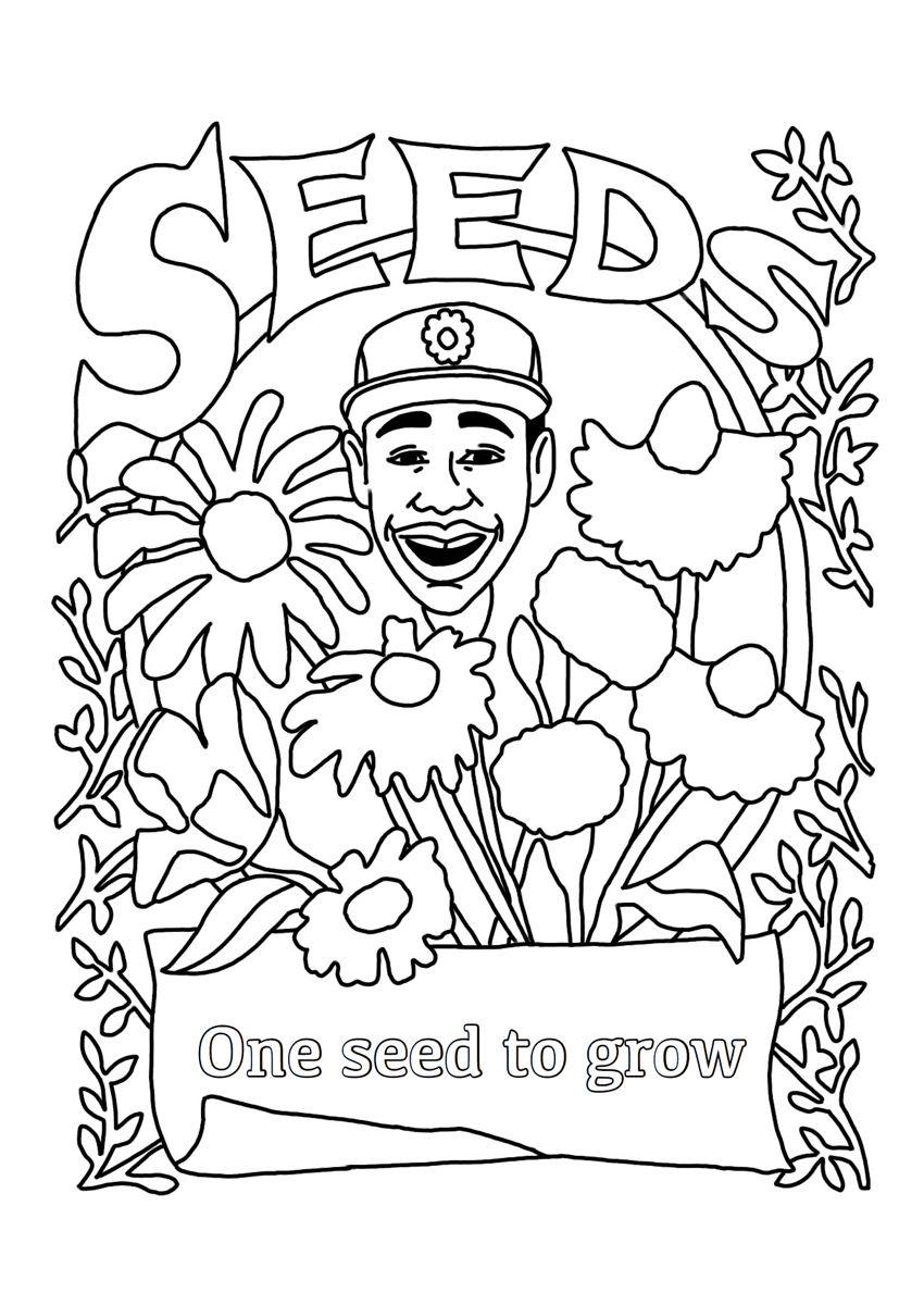 Tylerthecreator Coloringpages Quarentine Coloring Printable Floral Cute Coloring Pages Coloring Pages Tyler The Creator