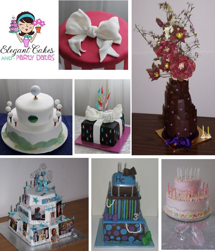 Elegant party decoration ideas elegant cakes and party for 21st birthday cake decoration ideas