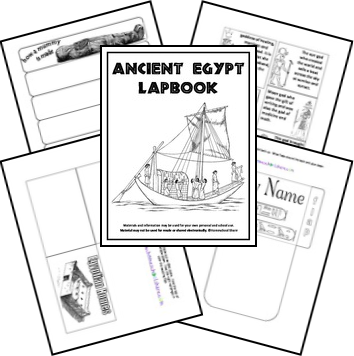 Here is a FREE ancient Egypt Unit Study and lapbook. This