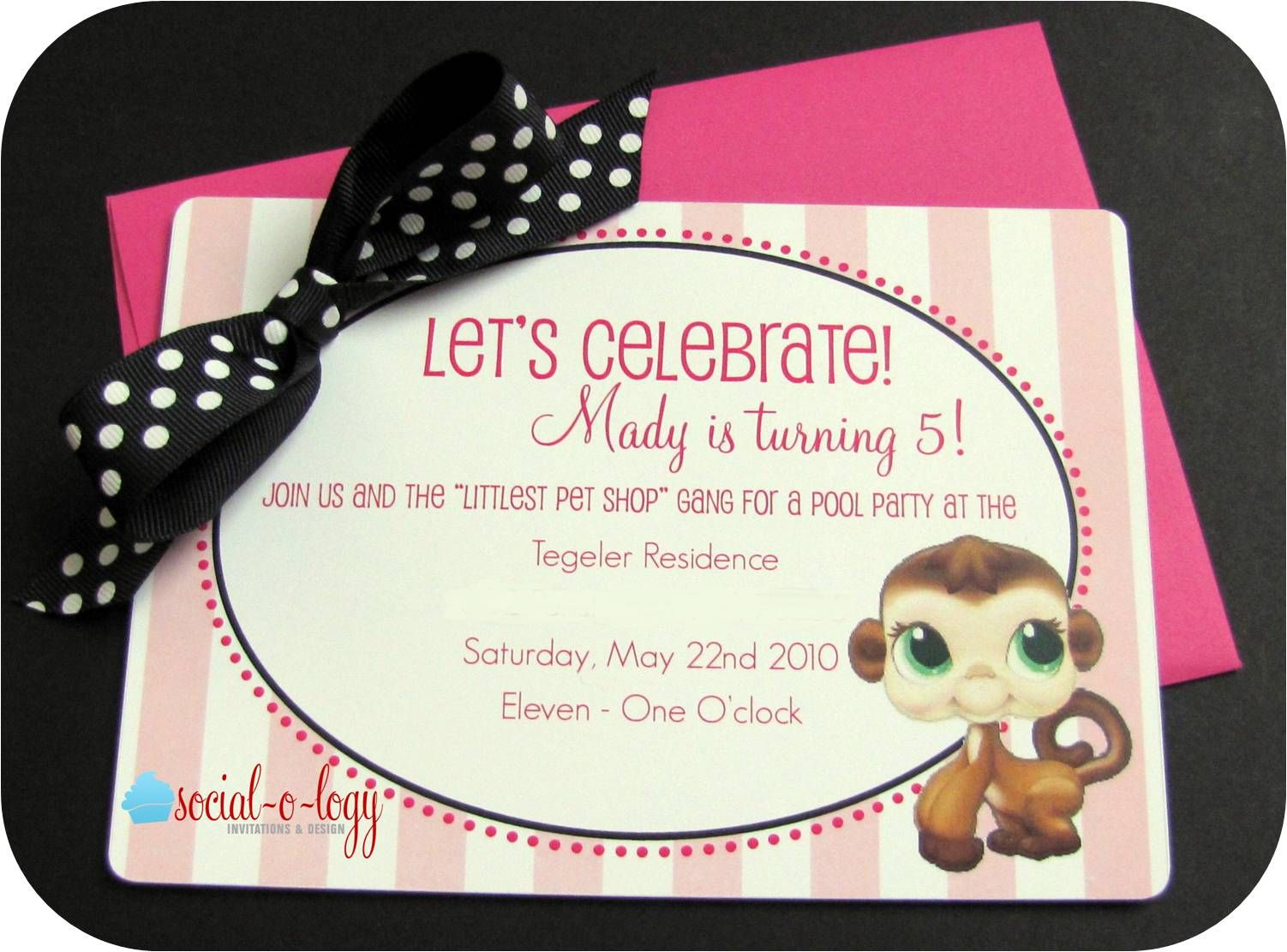 logy Invitations and Design: The Birthday Party - Littlest Pet ...