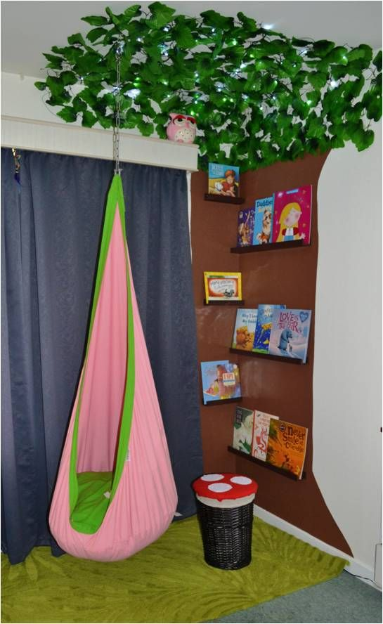 Reading Corner Kids Room Diy Decor Hand Made Book